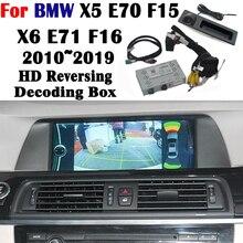 Задняя камера для BMW X5 E70 F15 X6 E71 F16 2010~ интерфейс экран дисплей обновление парковки декодер для камеры Модель