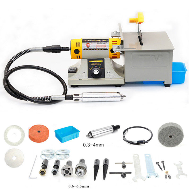 220V 350W 10000RPM Multifunction Jewelry Rock Polishing Buffer Grinder Mill Polishing Machine Bench Lathe Polisher220V 350W 10000RPM Multifunction Jewelry Rock Polishing Buffer Grinder Mill Polishing Machine Bench Lathe Polisher