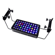 Full Spectrum Dimmable 165watt Led Reef Aquarium Lighting with Mounting Legs For 2ft Tank Marine Coral Aquareef Aquarium