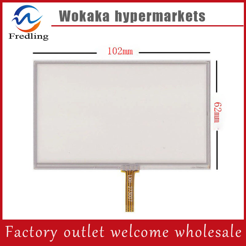 New 4.3 inch 4Wire Resistive Touch Panel Digitizer Screen For TeXet TN-501 GPS Free shipping