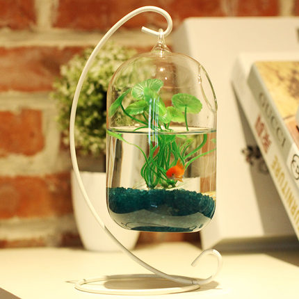 o roselif big size glass vase home decor aquarium suitable