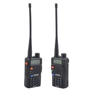 Image 5 - Baofeng walkie talkie uv 5r dualband hai cách phát thanh VHF/UHF 136 174 MHz & 400 520 MHz FM Thu Phát Cầm Tay với tai nghe