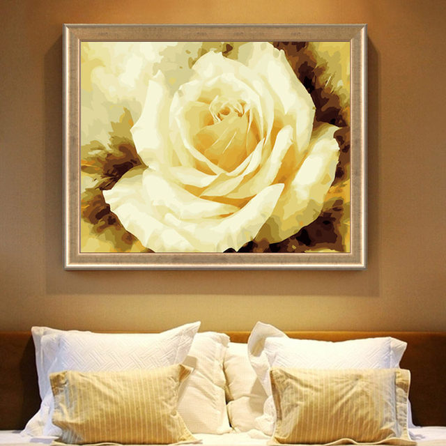 Online Shop 40x50cm Handpainted Wall Art Frameless Oil Painting By ...