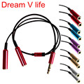 Dream V Life  Audio Splitter Y Cable Jack Male to 2 Female M/F 3.5mm Stereo Earphone Headphone  Sep 28