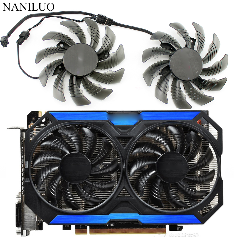 78MM T128010SM GTX960 FAN 12V Cooling Fan GV-N960OC For Gigabyte GTX 960 Fan  Graphics Video Card Cooler Fan PLD08010S12H Fan