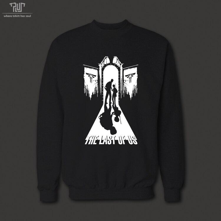 c1bb39ca2cb3 TLOU the last of us cool vinyl design men unisex crew neck 360gsm 10.3oz  weight sweatershirt cotton combine fleece free shipping-in Hoodies    Sweatshirts ...