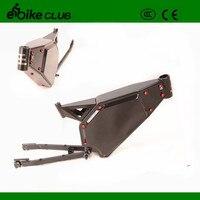 Высокая производительность Полный приостановление enduroebike frame, электрический велосипед Рамка для 5000 Вт Ebike
