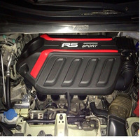 for Honda Fit/Jazz 2014 2015 2016 2017 2018 only FOR Earth Dreams 1.5L DOHC i VTEC Engine hood protection cover dust guard