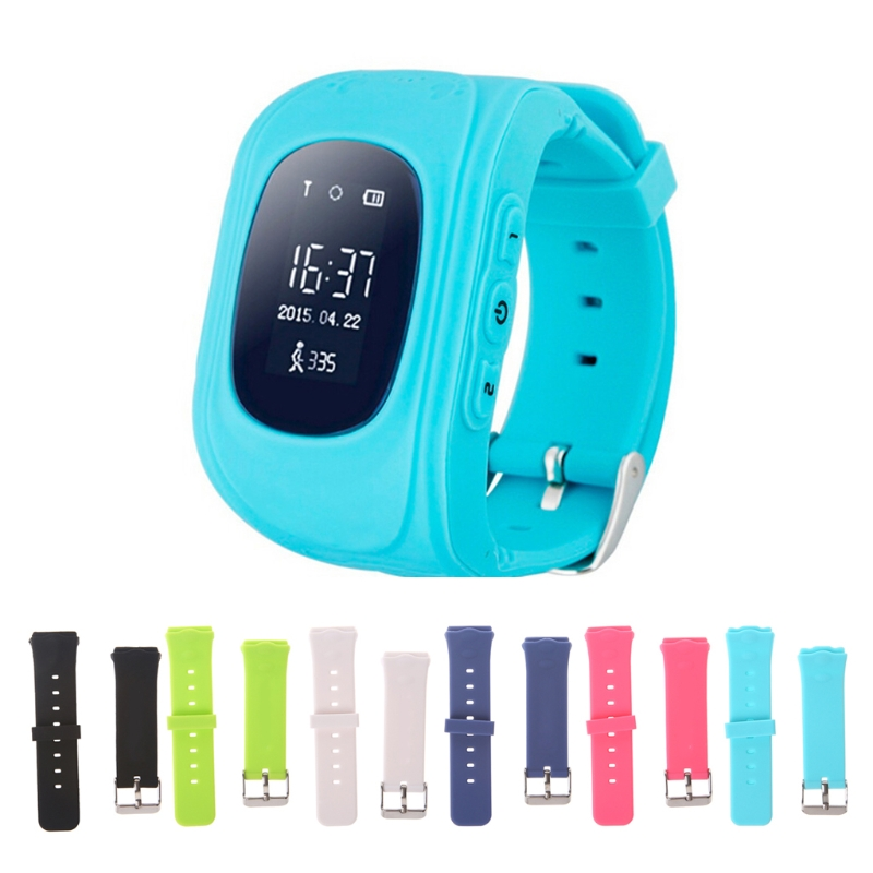 Smart Locator Tracker Watch Replacement Band For Children Wrist Strap For Q50 Y3  -M30