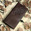 Free shipping!100% genuine leather men's wallet  head cowhide vintage pattern male purse big capacity carteira  card holder