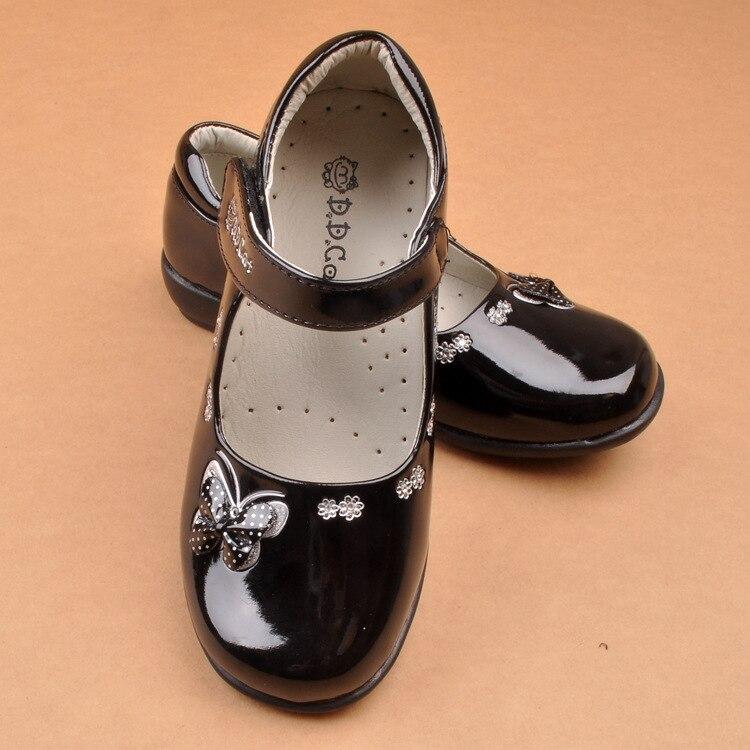 Nieuwe meisjes kinderen leren schoenen vlinder student school prinses - Kinderschoenen - Foto 6