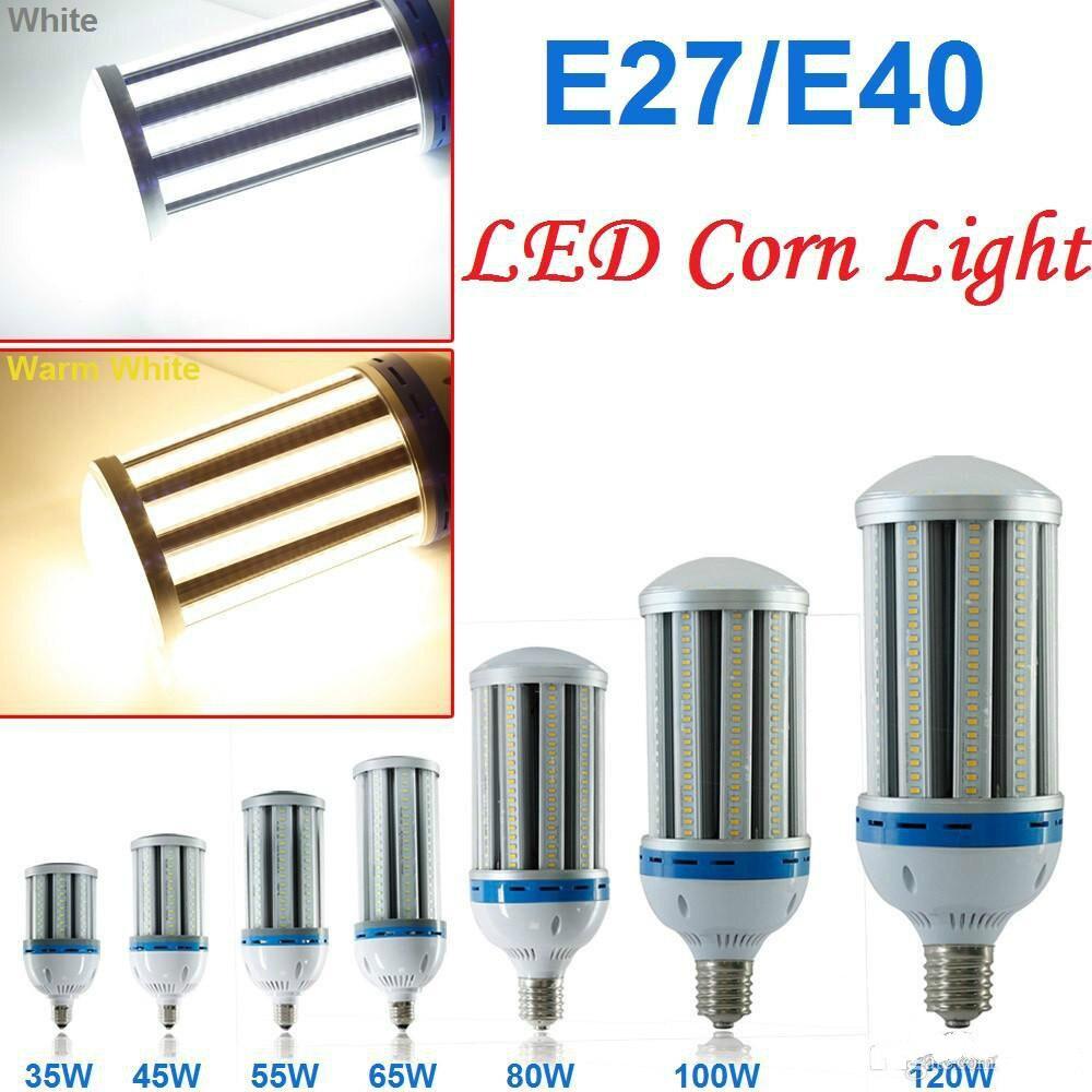 CE, UL E27 E39 E40นำหลอดไฟข้าวโพดแสง27วัตต์36วัตต์54วัตต์80วัตต์100วัตต์120วัตต์5730 SMDพลังงานสูงLEDหลอดไฟโคมไฟอล...