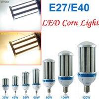 CE UL E27 E39 E40 נורת LED תירס אור 27 W 36 W 54 W 80 W 100 W 120 W 5730 SMD נורת LED מתח גבוה מנורת אלומיניום תאורת AC 85-265 V