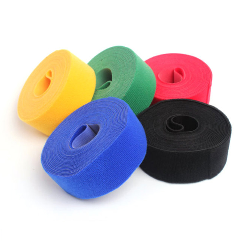 Competent Colorful Double Sided Nylon Adhesive Hook And Loop Fastener Tape Sew On Snap Fastener Sewing Accessories Sout Out Tools Skillful Manufacture