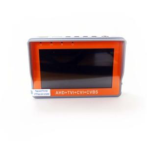 Image 3 - IV7W 4.3inch CCTV AHD TVI CVI CVBS camera tester monitor analog CVBS camera testing UTP cable test 12V1A output free shipping