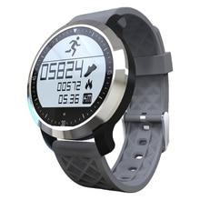 Sport Smart Uhr F69 Wasserdicht IP68 Standby 7 tage Smart Schwimmen Modus Pulsmesser Bluetooth Uhr SmartWatch