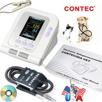 CONTEC08A VET Digital Veterinary Blood Pressure Monitor 6 11cm Cuff+SpO2+Software