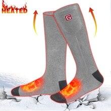 Комплект носков с подогревом на аккумуляторной батарее GLOBAL Vesion для женщин и мужчин