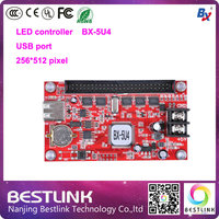 BX 5U4 Single Dual Color Control Card Onbon LED USB Port Led Controller 256 512