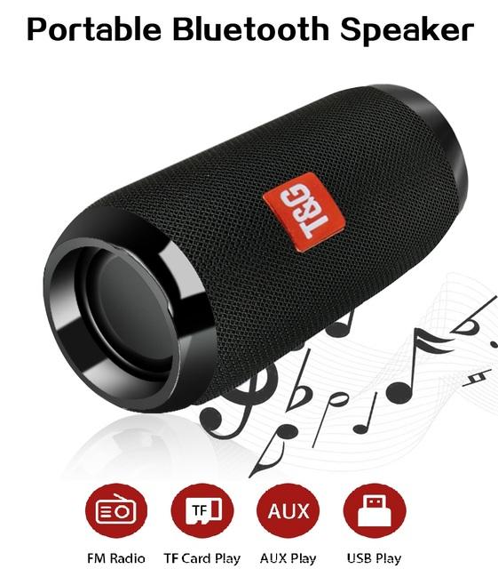 Altavoz Inalámbrico Portátil con Bluetooth
