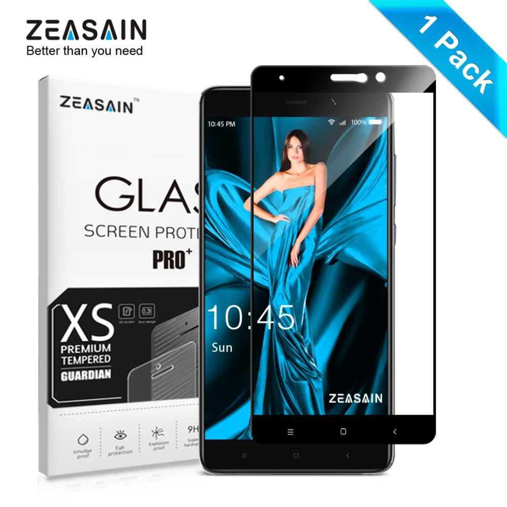 Original ZEASAIN Full Cover Tempered Glass for Xiaomi Mi5s Plus Xiaomi Mi 5s Plus Screen Protector 9H 2.5D Glass Safety Film