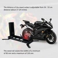Heavy Duty Motorbike Paddock Stand Autobike Rim Lift Motorcycle Front Wheel Stand Vehicle Repairing Tool