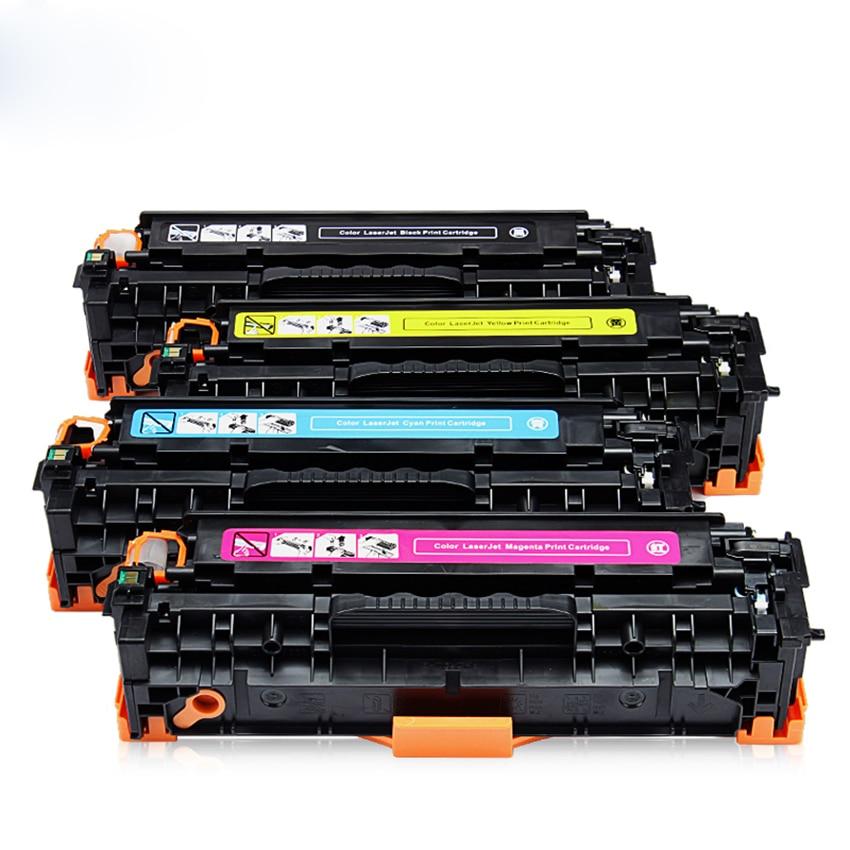 High Quality Toner Cartridge CF380A CF381A CF382A CF383A for HP M476DN M476DW M476NW 4X/Set mikado forelise 4 5 см 69 тонущий