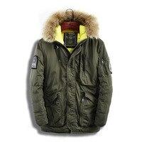 Мужская зимняя модная стеганая куртка парка мужские пальто мужские тонкие утепленные меховые с капюшоном Верхняя одежда теплое пальто пов
