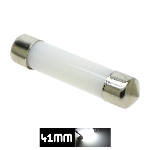 Dôme de décoration LED 31mm 36mm 39mm 41mm c5w 212-2 6418 blanc froid lecture plaque d'immatriculation lampe lumière LED ampoule couverture laiteuse ampoules 12V 4