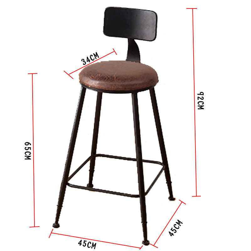 Bar Chairs Barstool Fauteuil Stoel Sedie Tabouret De Comptoir Taburete Stoelen Sandalyeler Sedia Retro Cadeira Stool Modern Silla Bar Chair Bar Furniture