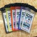 Mobile phone general waterproof phone case cover underwater bag pouch clear TPU Inflatable waterproof mobile phone bag