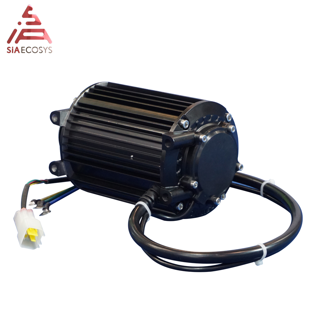 QS 1kW 90 72V55KPH Mid Drive Motor With New Appearance