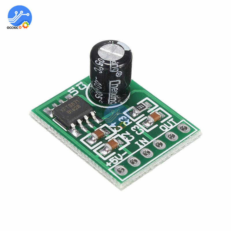Mini XH-M125 Mono Versterker Board XPT8871 DC 5V 5W Audio Spectrum Speaker Sound Board modulo amplificador DIY Kit