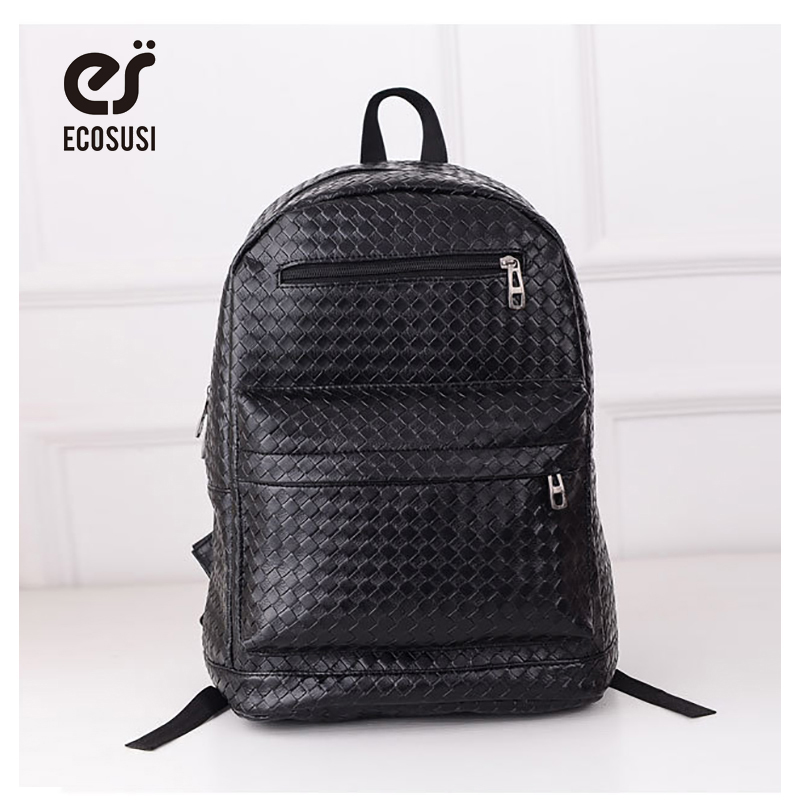 ФОТО Free Shipping Womens Rivets Backpack Schoolbag PU Leather Punk casual backpack canvas bag preppystyle student school bag