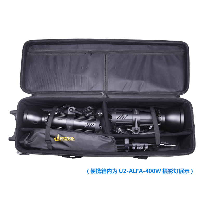 Flash photography photo bag light set background frame pull rod package bag photography light stand flash Pulley bag NO00DC