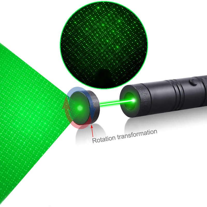 CWLASER 2 в 1 532nm/650nm/405nm фокус зеленый/красный/лазерная указка фиолетового цвета (303) с замком + матч-освещение (черный)