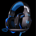 Kubite EACH G2000 Over-ear Game Gaming Headphone Headset Earphone Headband with Mic Stereo Bass LED Light for PC Game