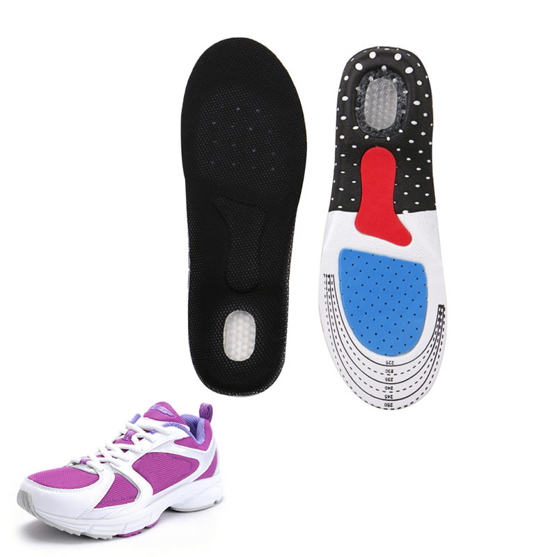 Women Lady Foot Gel Insoles Pads Orthotic Arch Support Shoe Pad 35-40 Size Multi-functional Sports Soft Insole Female Model high quality o leg orthotic shoe pad arch support insoles foot care massage shoes pads shock absorbant breathable insole xd 042