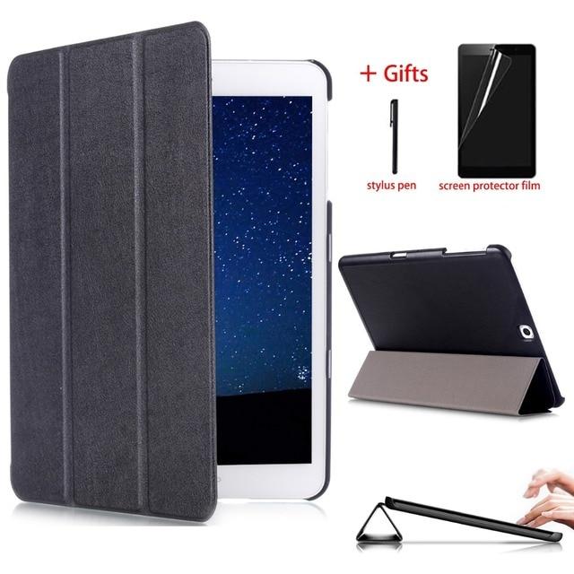 Tab S2 9,7 чехол SM-T813 T819 тонкая магнитная Smart Cover для Samsung Galaxy Tab S2 9,7 sm-t810 t815 планшет с Авто Режим сна/Пробуждение