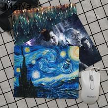 Maiya Top Quality Doctor Who Phone Box mouse pad gamer play mats Top Selling Wholesale Gaming Pad mouse