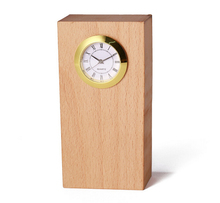 Antique style desktop clocks with needle wood