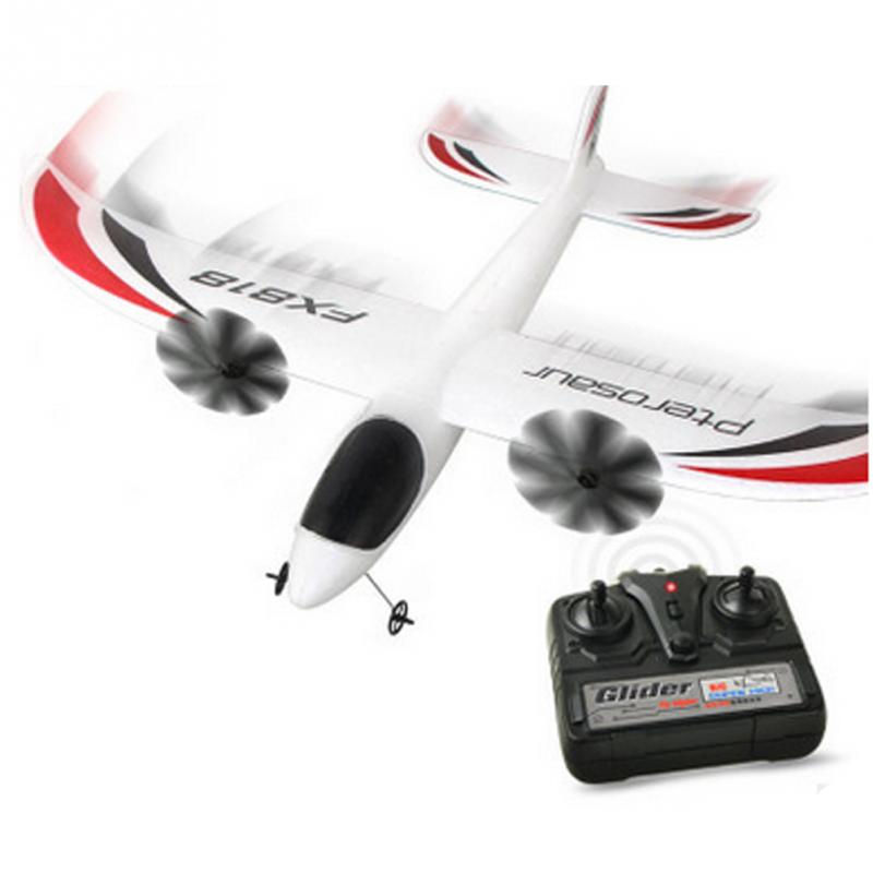 FX-818 2.4G 2CH EPP Indoor Parkflyers Airplane Remote Control RC Plane eboyu tm volantex rc tw781 cessna 2 4g 2ch rc airplane 200mm wingspan mini epp infrared remote control indoor drone aircraft