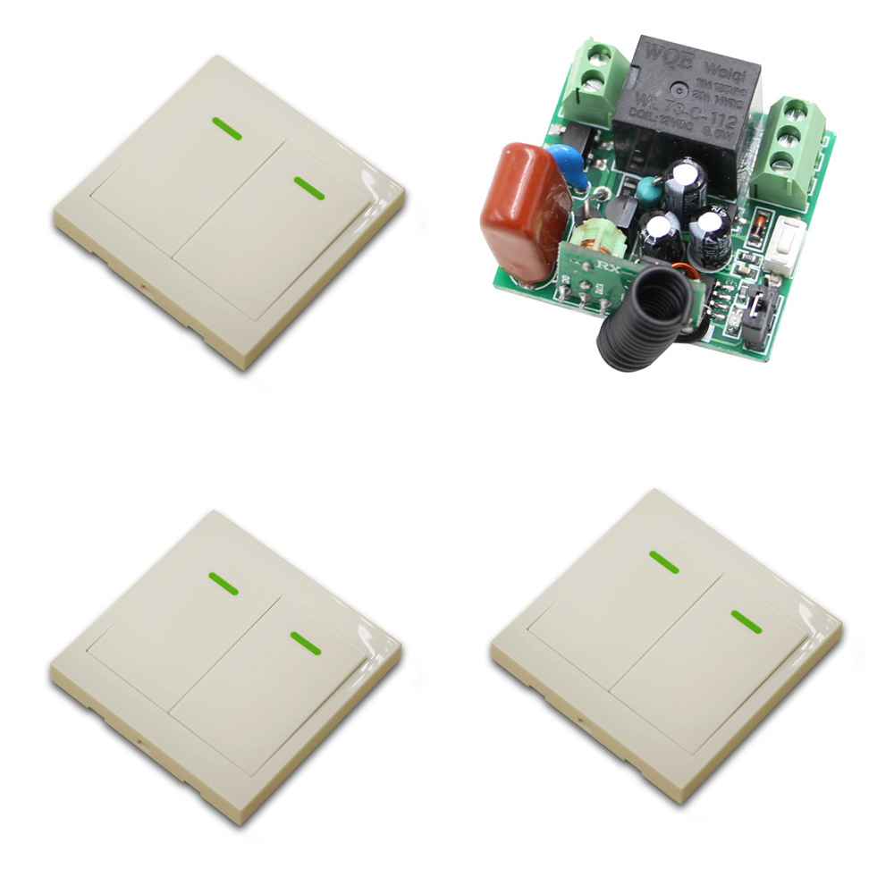 315Mhz AC 220V 1CH Remote Control Switch Radio Light Switch 1 Channel 10A Wireless Relay Receiver Transmitter Fixed Code ac 220v 10a wireless remote control switch 1ch relay receiver module wall transmitter radio light switch fixed code 315 433mhz