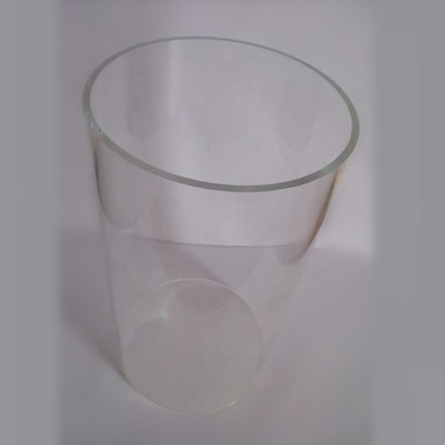 2pcs OD500x5x1000mm acrylic tube clear plastic building material home improvement can cut any size