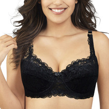 Bras For Women Deep V Sexy Lace Bra Push Up Underwire Gather Adjustment Plunge Lingerie Embroidery Underwear Plus size ABCD
