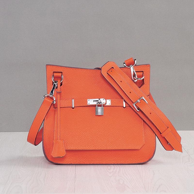 2018 Lock Lags Handbags Women Famous Brands Saddle Designer Handbags High Quality Hasp Single Crossbody Bags Large Shoulder Bags