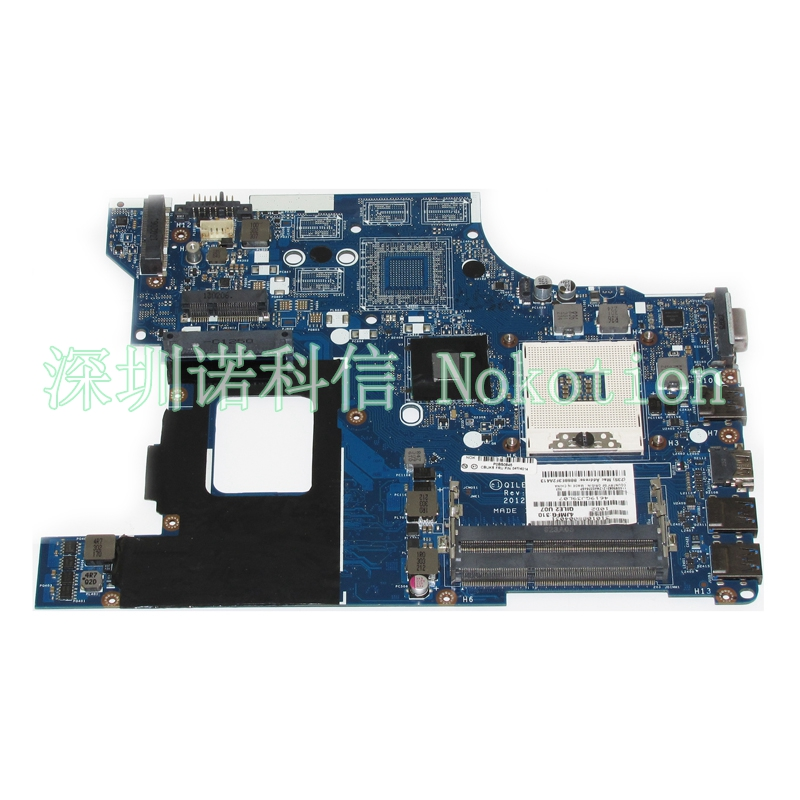 все цены на  NOKOTION fru 04W4014 Main Board Laptop Motherboard For Lenovo E530 System Board QILE2 LA-8133P DDR3 test  онлайн