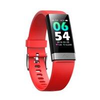 V19 smart bracelet ECG+PPG+HRV heart rate monitor blood pressure monitoring sleep Bluetooth fitness tracker big led smart watch