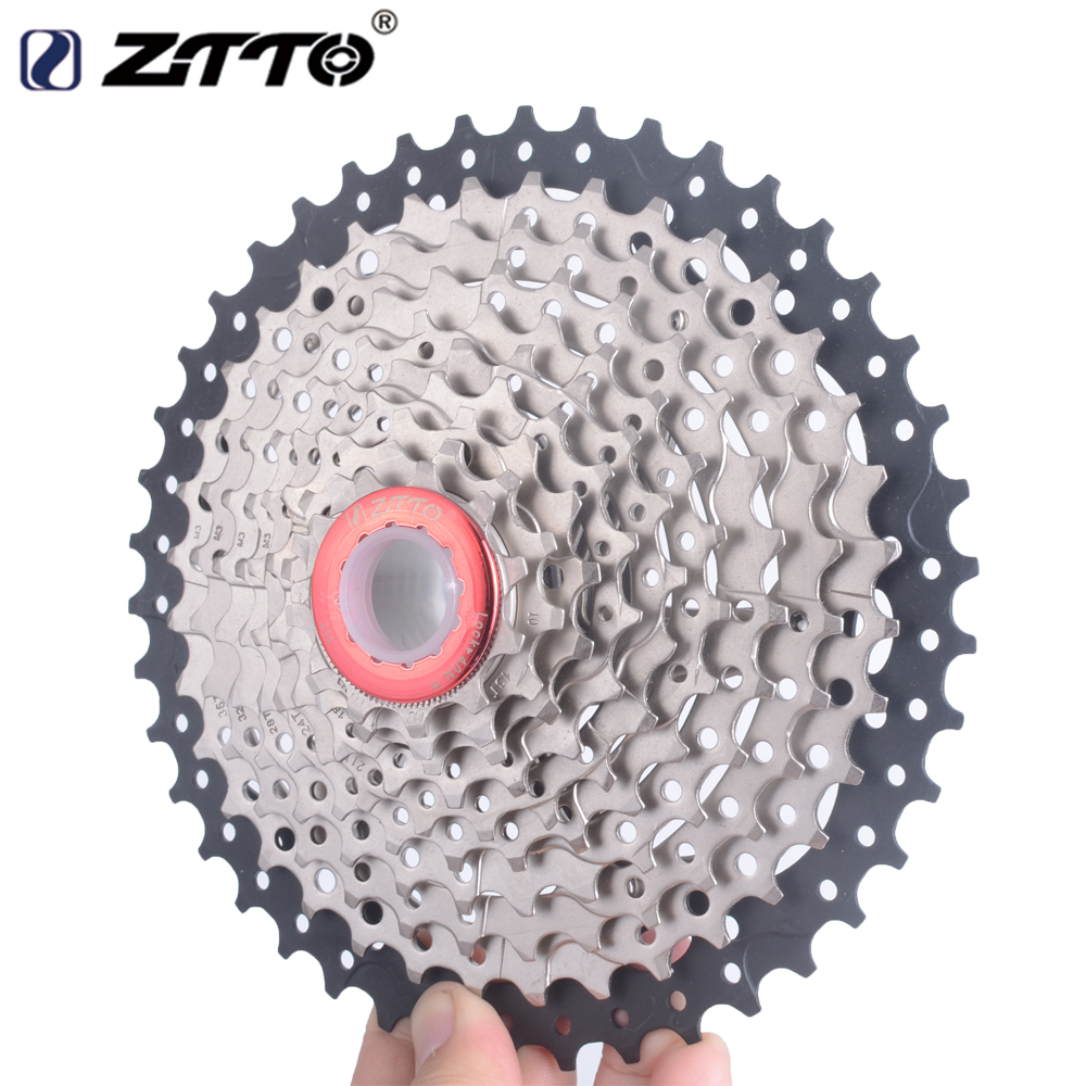 ZTTO 11-42T 10 Speed 10s Wide Ratio MTB Mountain Bike Bicycle Cassette Sprockets for Shimano m590 m6000 m610 m675 m780  X5 X7 X9 2016new koozer xm490 mtb hub 32 hole aluminum bicycle hub for shimano 11 speed cassette 5 color