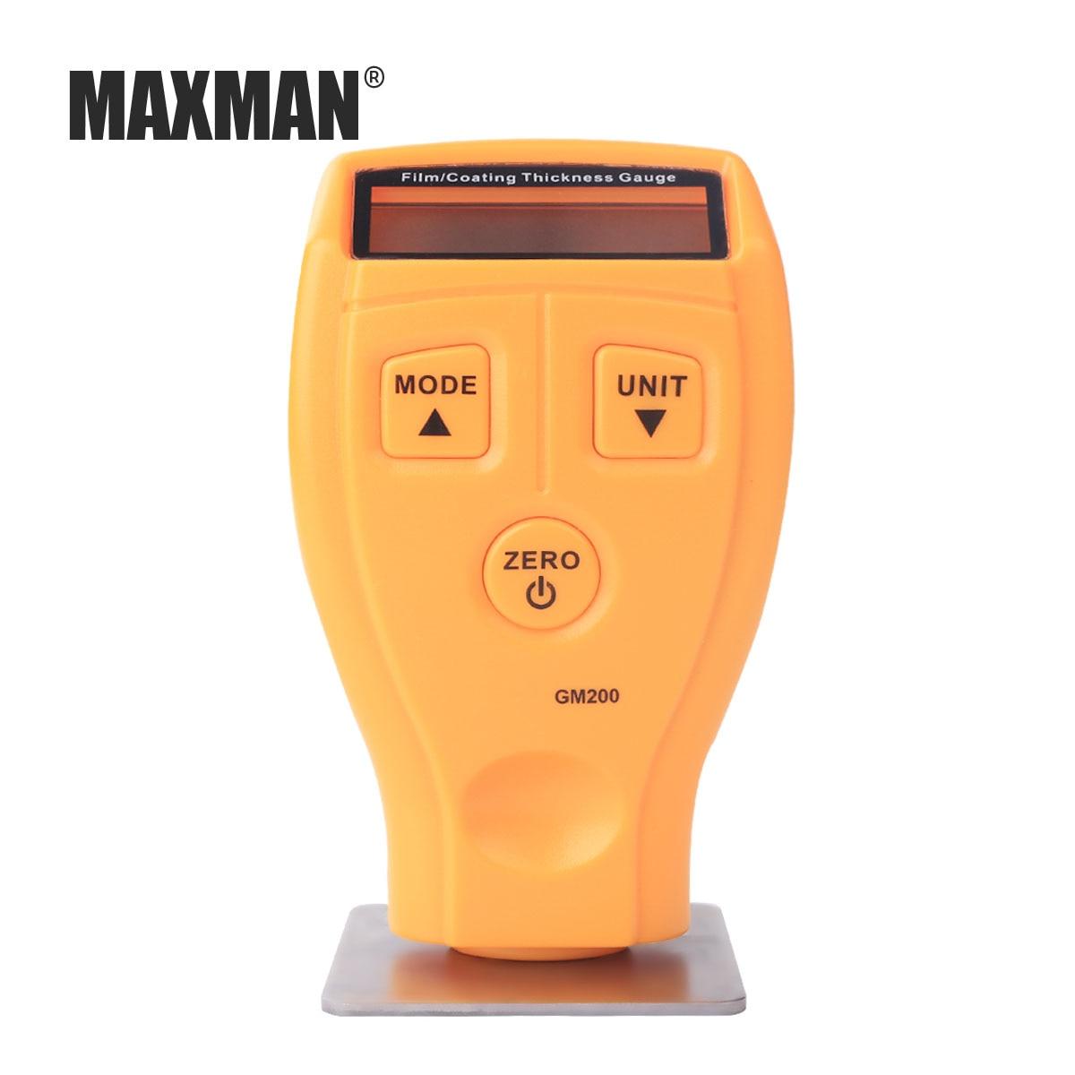MAXMAN Mini Digital Automotive 0-1.80mm range Paint Coating Thickness Gauge Car Paint Thickness Meter Tester Car Diagnostic Tool digital automotive coating ultrasonic paint iron thickness gauge meter tool